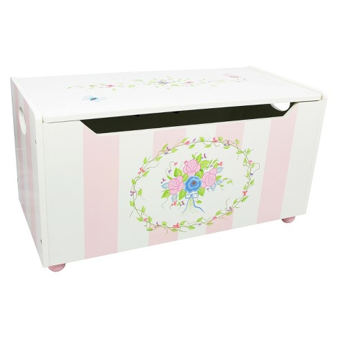 Fantasy Fields Bouquet Toy Chest - Teamson - image 1 of 5