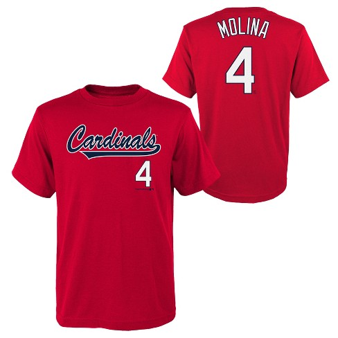MLB St. Louis Cardinals Youth Name & Number T-Shirt - image 1 of 3