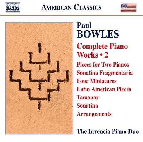 Invencia piano duo - Bowles:Complete works vol 2 (CD) - image 1 of 1