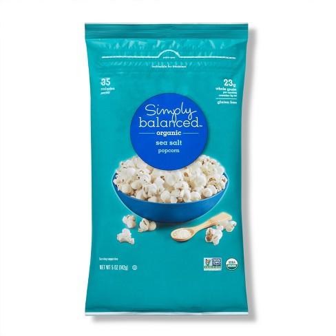 Organic Lightly Salted Popcorn - 5oz - Simply Balanced™ - image 1 of 3