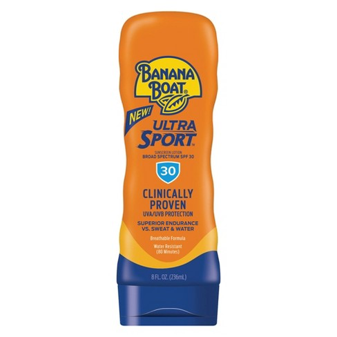 Banana Boat Ultra Sport Sunscreen Lotion - SPF 30 - 8oz - image 1 of 4