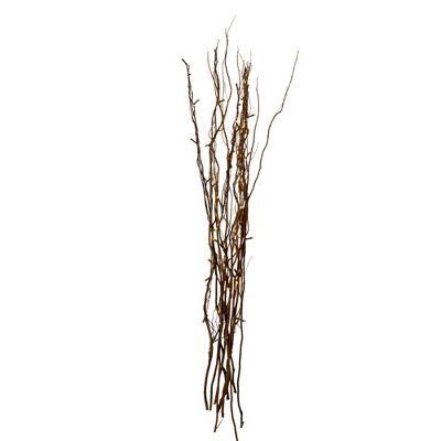 """Northlight 39"""" Brown LED Battery Operated Christmas Tree Branch"""