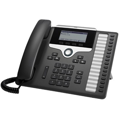 Cisco 7861 IP Phone - Wall Mountable - 16 x Total Line - VoIP - Caller ID - SpeakerphoneEnhanced User Connect License - 2 x Network (RJ-45)