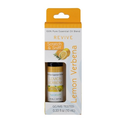 0.3 fl oz Lemon and Verbena Essential Oil - SpaRoom - image 1 of 4