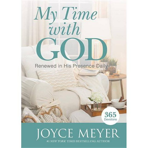 My Time with God - by  Joyce Meyer (Hardcover) - image 1 of 1
