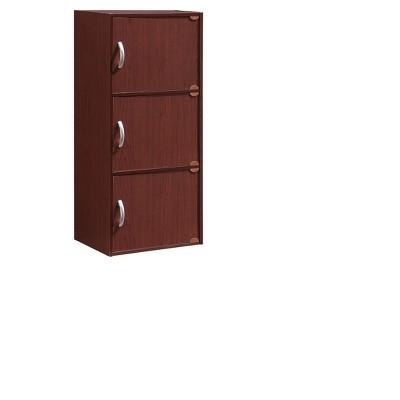 Storage Cabinet Mahogany - Hodedah Import