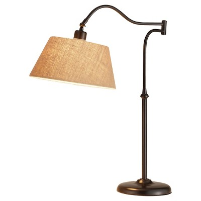 """27"""" Rodeo Collection Table Lamp Brown - Adesso"""