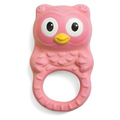 Infantino Go GaGa Squeeze & Teethe Textured Pal - Owl