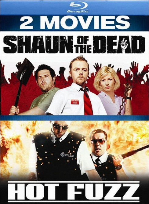 Shaun of the Dead/Hot Fuzz (2 Discs) (Blu-ray) - image 1 of 1