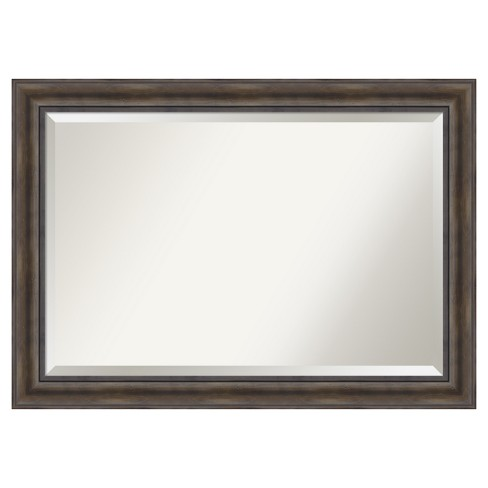 """36""""x24"""" Wall Mirror Extra Large Rustic Pine - image 1 of 4"""