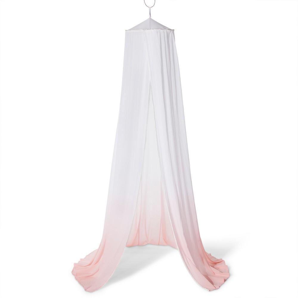 Dip Dye Bed Canopy Pink - Pillowfort, Daydream Pink