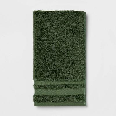 Performance Hand Towel Dark Green - Threshold™