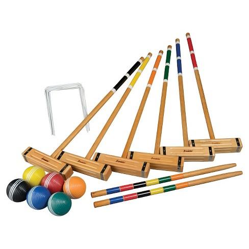Franklin Sports Clic Series 6 Player Croquet Set