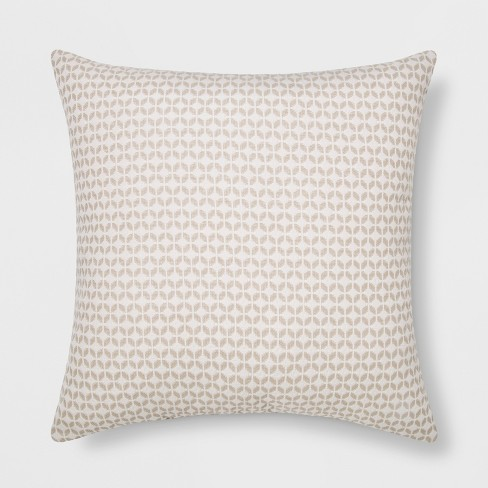 Woven Geo Square Throw Pillow - Project 62™ - image 1 of 2