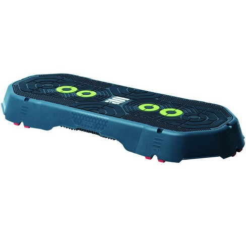 Escape Fitness Anti Slip 4.5 Inch Tall Step Platform for a Variety of Aerobic, Cardio, and Plyos Workout Training Exercises - image 1 of 4
