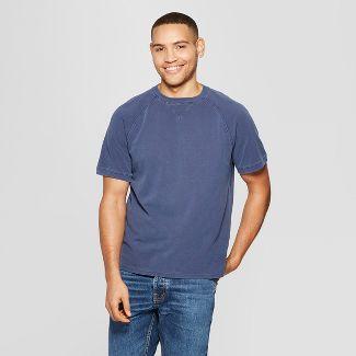 Men's Standard Fit Short Sleeve Pique Shirt - Goodfellow & Co™ Xavier Navy S