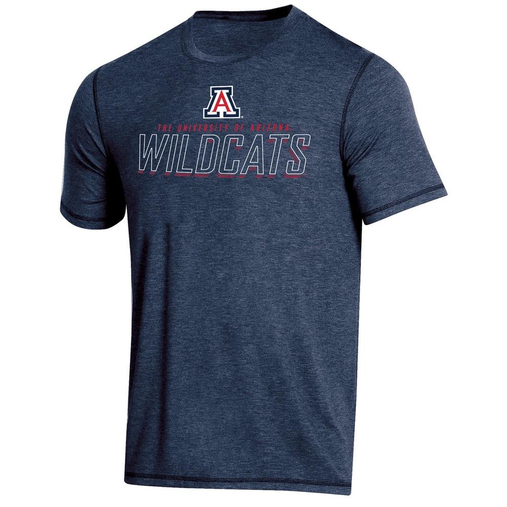 NCAA Men's Short Sleeve Poly T-Shirt Arizona Wildcats - M, Multicolored