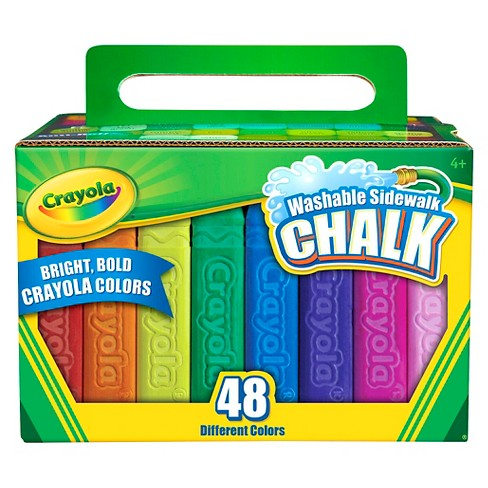 Crayola® Sidewalk Chalk Washable 48ct - image 1 of 3