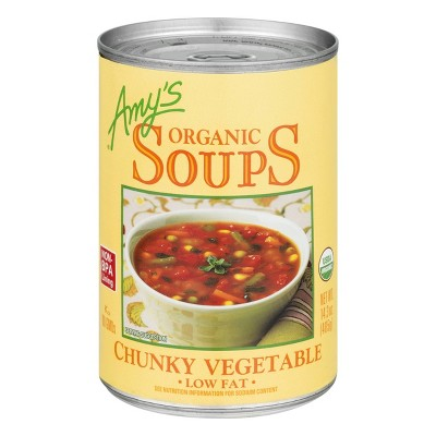 Amy's Organic Low Fat Chunky Vegetable Soup - 14.3oz