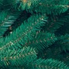 6.5ft National Christmas Tree Company Pre-Lit Dunhill Blue Fir Hinged Artificial Christmas Tree with Clear Lights - image 3 of 3