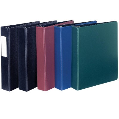 Avery Durable Binder with Slant Ring, 1-1/2 Inches, Burgundy