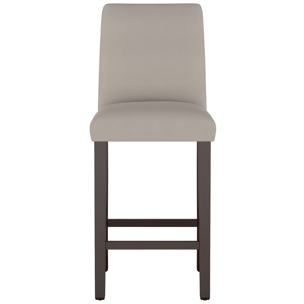 Swell Modern Bar Stool Medium Gray Velvet Project 62 Gmtry Best Dining Table And Chair Ideas Images Gmtryco