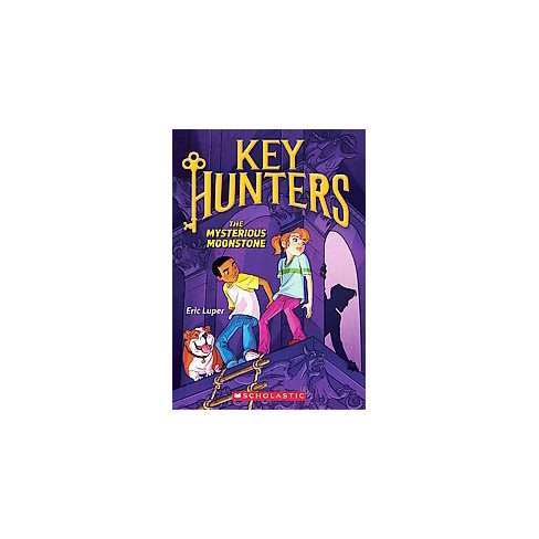 The Mysterious Moonstone - (Key Hunters) by  Eric Luper (Paperback) - image 1 of 1