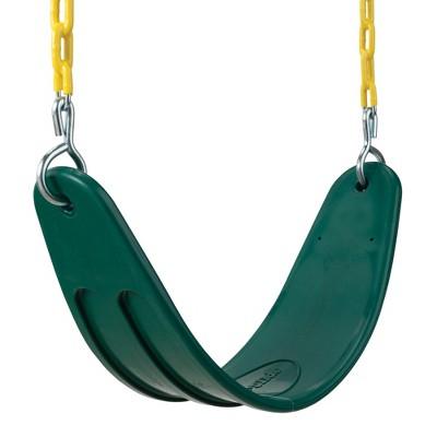 Swing-N-Slide Heavy-Duty Swing Seat - Green/Yellow