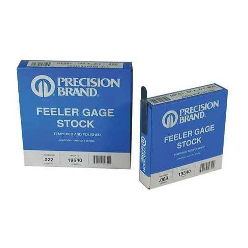 PRECISION BRAND 19340 Feeler Gauge,High Carbon Steel,0.0080 In - image 1 of 1