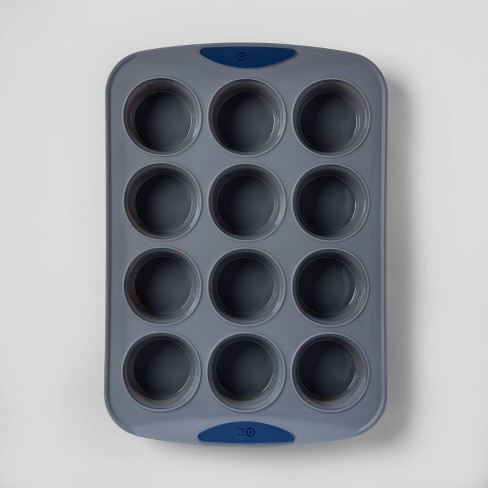 12ct Silicone Muffin Pan - Made By Design™ - image 1 of 4