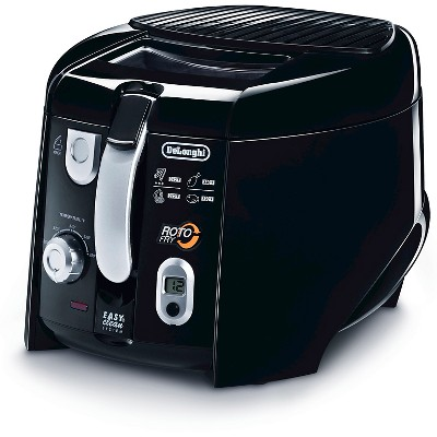 Delonghi Roto Deep Fryer with Patented Rotating Basket