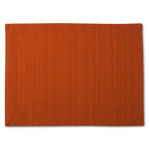 Placemat Solid Orange - Threshold™ - image 1 of 1