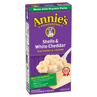 Annie's Shells & White Cheddar Macaroni & Cheese - 6oz
