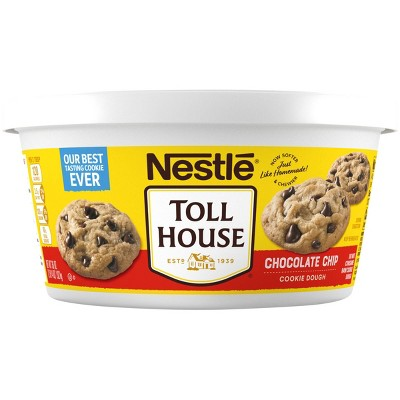 Nestle Tollhouse Scoop & Bake Chocolate Chip Cookie Dough Tub - 36oz