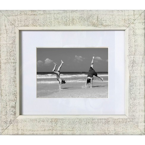 """5"""" x 7"""" Washed Wood Frame Clear - Threshold™ - image 1 of 2"""