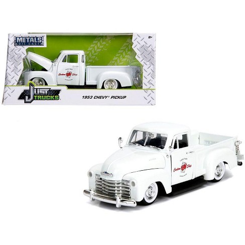 Chevrolet Las Vegas >> 1953 Chevrolet 3100 Pickup Truck White Custom Shop Classic Truck Las Vegas Nevada 1 24 Diecast Car By Jada