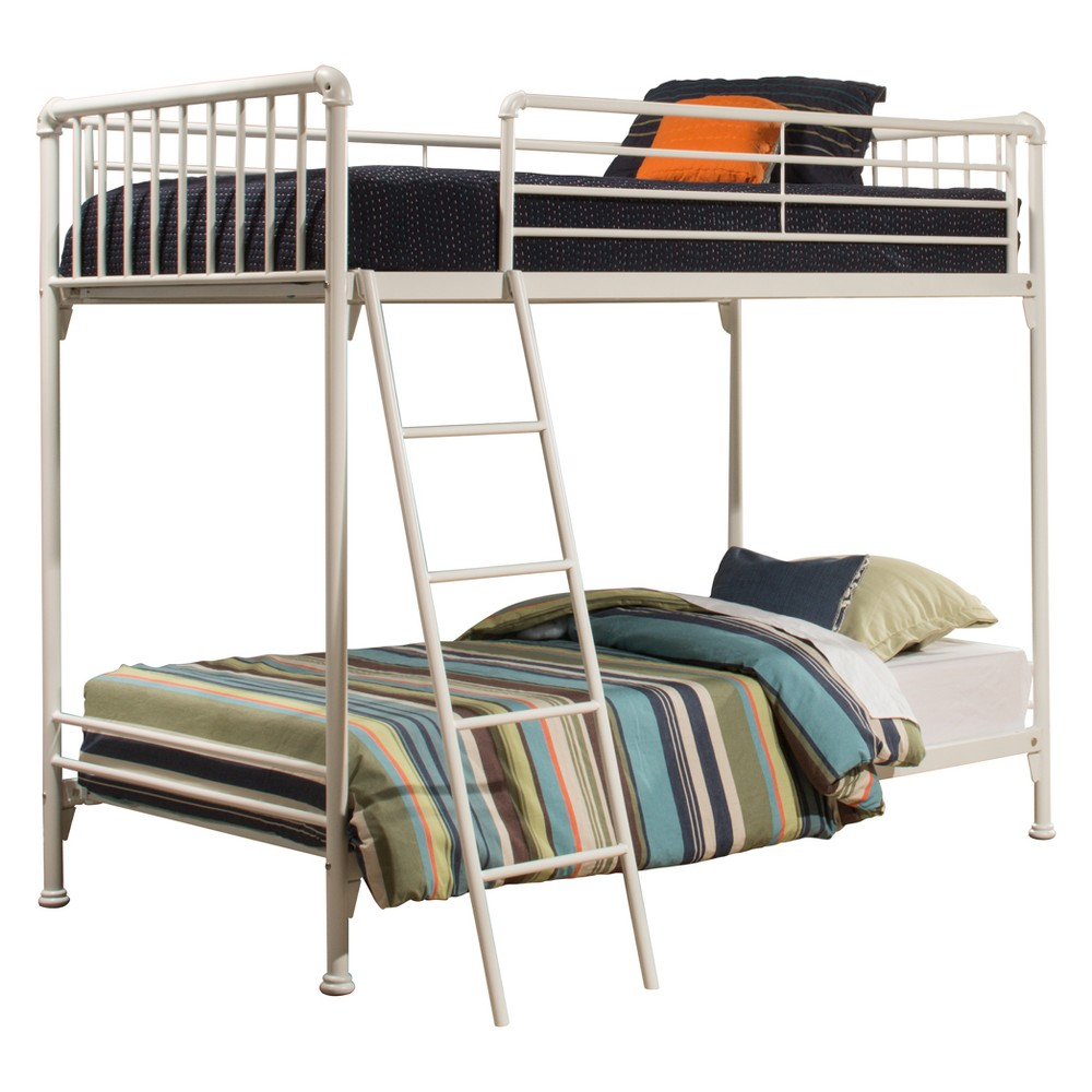Brandi Metal Bunk Bed Twin/Twin White - Hillsdale Furniture