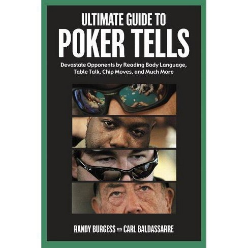 Ultimate Guide to Poker Tells - by  Randy Burgess (Paperback) - image 1 of 1