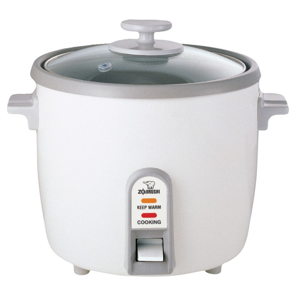 Zojirushi NS-PC18WK Electric Rice Cooker & Warmer - 10 Cup, White Zojirushi NS-PC18WK Electric Rice Cooker & Warmer - 10 Cup Color: White.