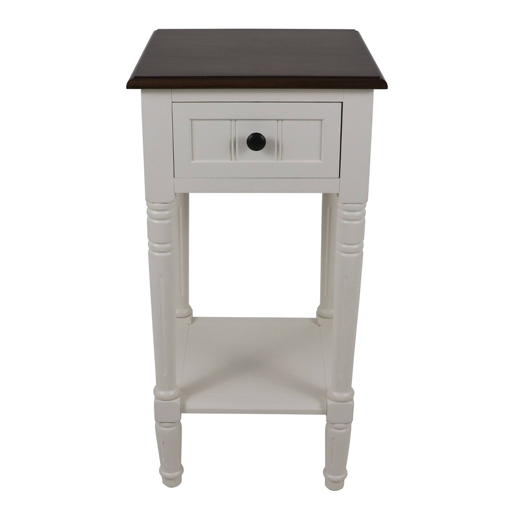 Coupons Simplify One Drawer Accent Table  - Décor Therapy