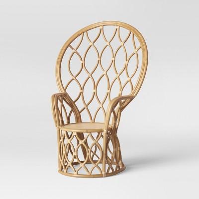 Peacock Rattan Chair Natural - Opalhouse™ & Peacock Rattan Chair Natural - Opalhouse™ : Target