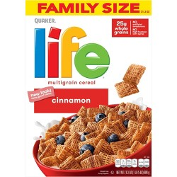 Life Cinnamon Multigrain Breakfast Cereal - 21.3oz