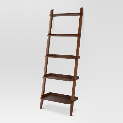 72  Carson Leaning Bookcase - Midtone - Threshold™