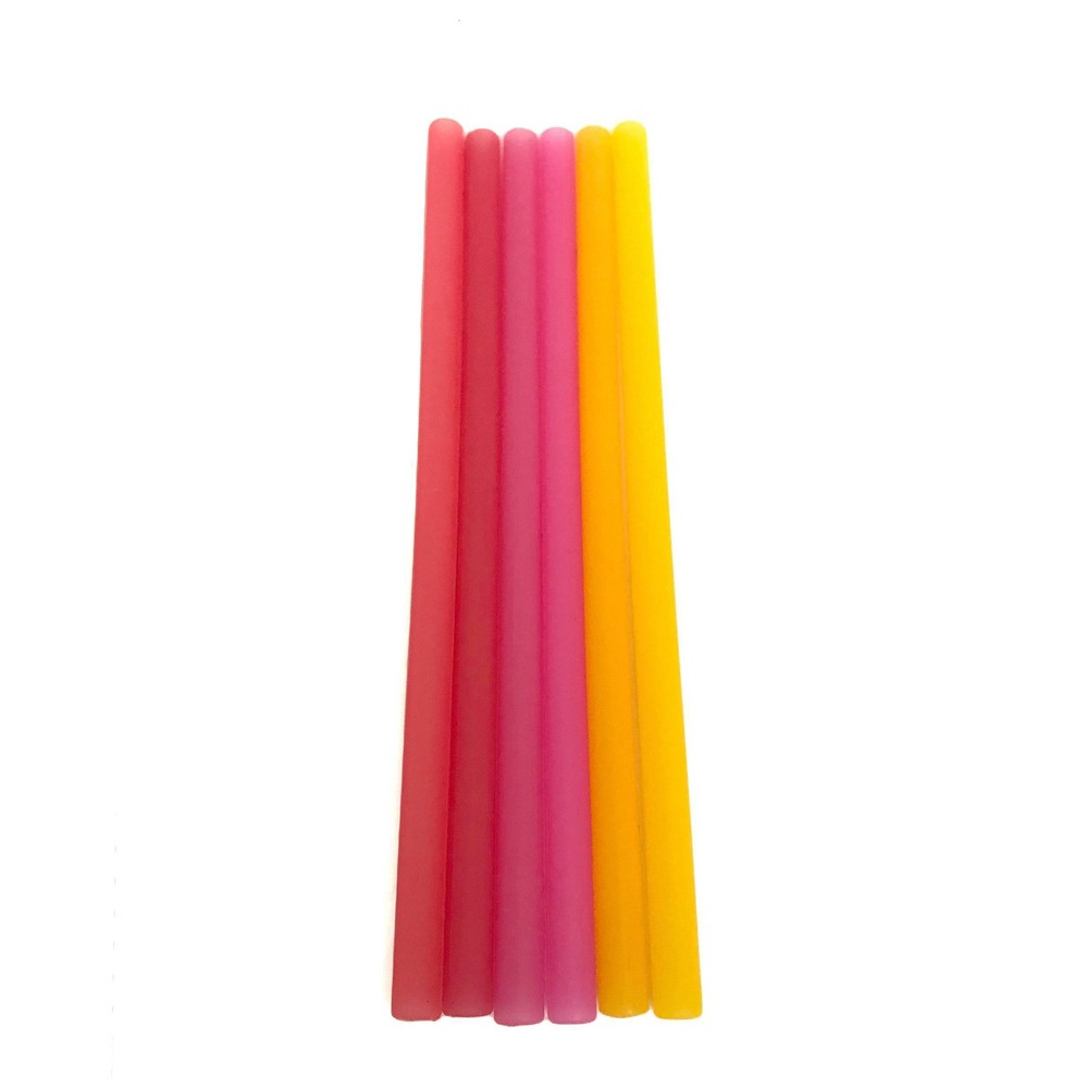 Image of GoSili Straws Warm Ombre, drinkware accessories and parts