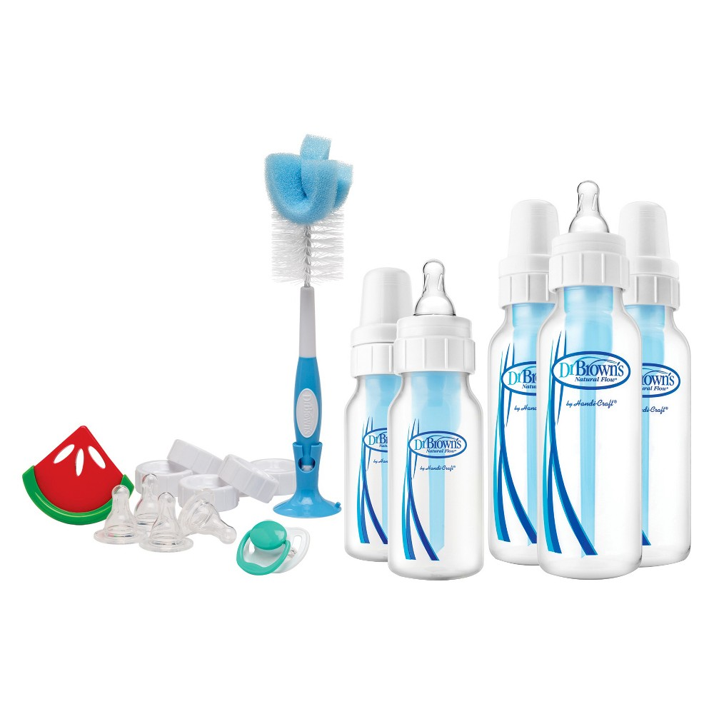 Image of Dr. Brown's Natural Flow Baby Bottle Gift Set - 21pc