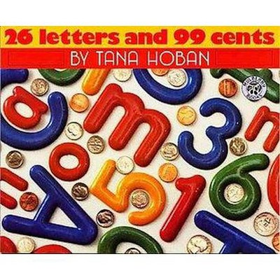26 Letters and 99 Cents (Hardcover)(Tana Hoban)