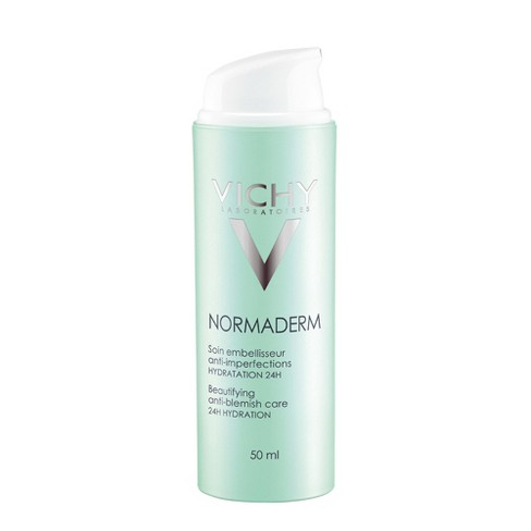 Vichy Normaderm Anti-Acne Treatment, Face Lotion with Salicylic Acid - 1.69oz - image 1 of 2