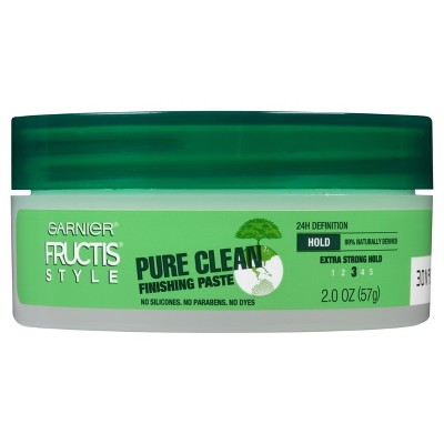 Hair Styling: Garnier Fructis Pure Clean Finishing Paste