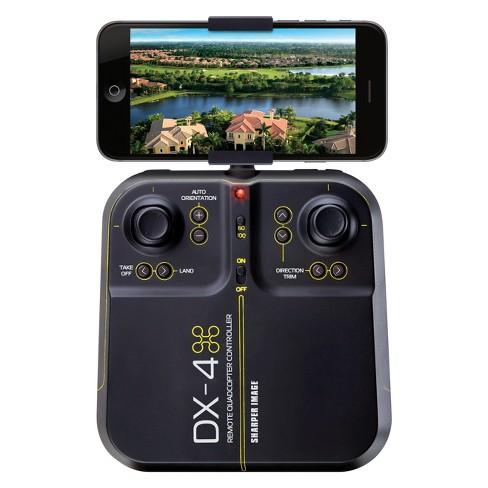 Sharper Image Dx 4 Hd 144 Streaming Drone Black Target