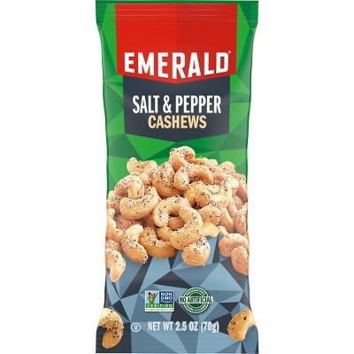 Emerald Salt & Pepper Cashews - 2.5oz